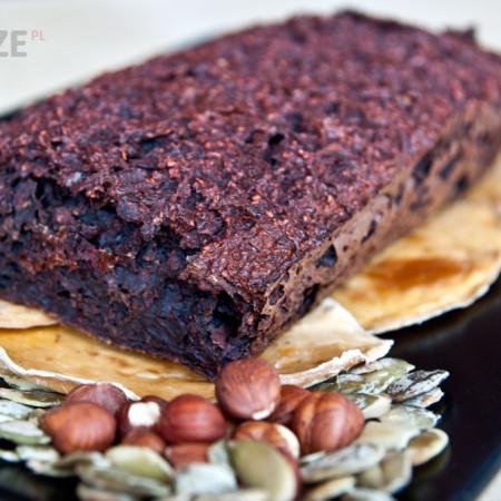 Niskokaloryczne ciasto czekoladowe