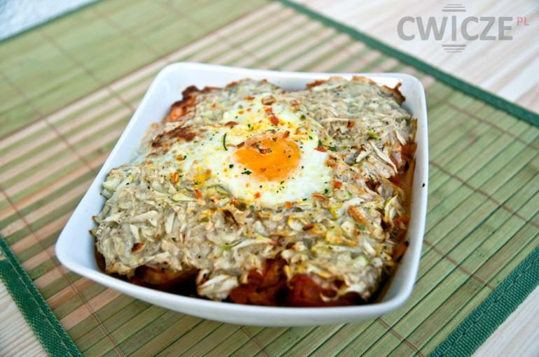 Nowe smaki: Kurczak curry z marchewką, cukinią i jajkiem
