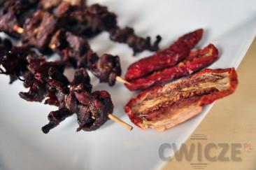 Zdrowa mięsna przekąska – suszona wołowina