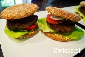 Dietetyczne burgery wołowe