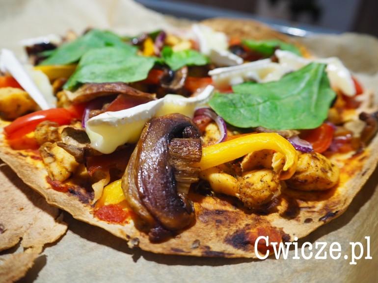 Dietetyczna pizza