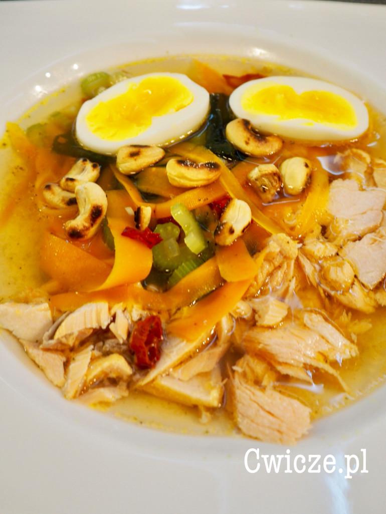 Łososiowa zupa