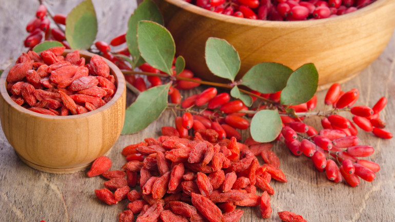 Superfood- jagody goji